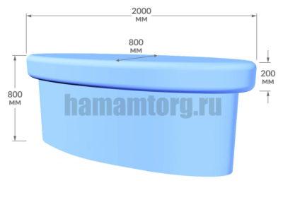 Массажный стол для турецкой бани